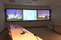 Carlos, Ieva and I at the Malaga University eLearning Labs, May 2015