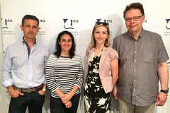 Together with Ieva, Carlos and Maria, May 2015