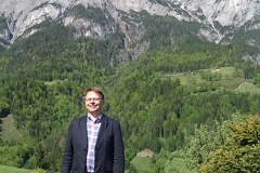 Posing in the Alps, Salzburg May 2014